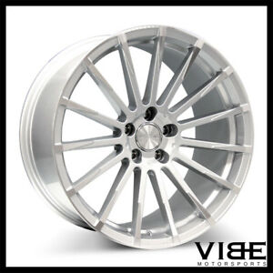 20 Ace Devotion Silver Concave Wheels Rims Fits Nissan Maxima