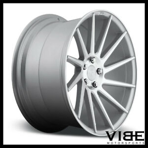 20 Niche Surge Silver Concave Wheels Rims Fits Ford Mustang Shelby Gt Gt500