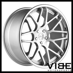 19 Vertini Magic Silver Concave Staggered Wheels Rims Fits Lexus Is250 Is350