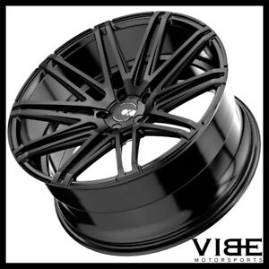 19 Xo Milan Black Concave Wheels Rims Fits Hyundai Genesis Coupe