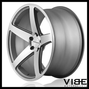 22 Concavo Cw 5 Grey Concave Wheels Rims Fits Dodge Charger Rt Se Srt8