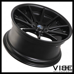 19 Rohana Rc10 Black Concave Wheels Rims Fits Ford Mustang Gt Gt500