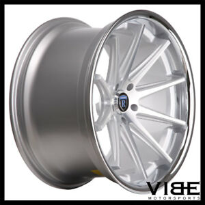 20 Rohana Rc10 Silver Concave Wheels Rims Fits Ford Mustang Gt Gt500