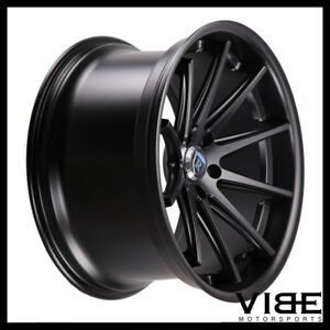 20 Rohana Rc10 Black Concave Wheels Rims Fits Lexus Ls430