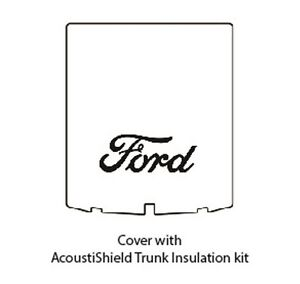 1939 1940 Ford Convertible Trunk Rubber Floor Mat Cover Kit W F 001 Ford Script