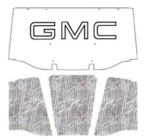 1967 1968 Gmc Truck Under Hood Cover With G 001 Gmc