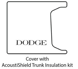 1955 1956 Dodge Coupe Sedan Car Trunk Rubber Floor Mat Cover With Me 100 Dodge