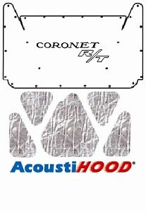 1965 1967 Dodge Coronet Under Hood Cover With Mb 065 Coronet R t
