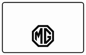 1949 1955 Mg Td Tf Roadster Trunk Rubber Floor Mat Kit With Mg 01 Mg Logo