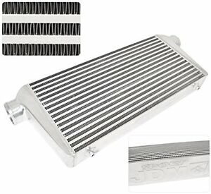 Universal Bar And Plate Fmic Polished Intercooler Cooling Turbo Super Charge