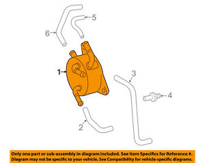 Toyota Oem 12 17 Camry Automatic Transaxle Oil Cooler 3349333030
