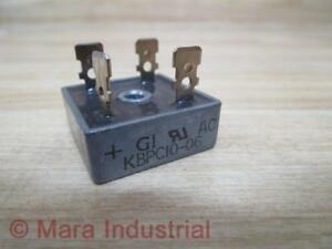 General Instrument Kbpc10 06 Bridge Rectifier pack Of 3