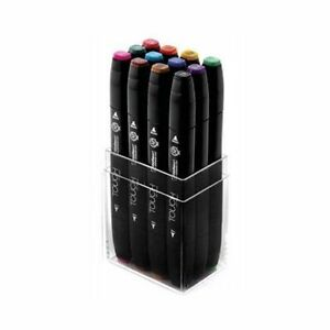 Shinhan Touch Twin Marker Set 12 Main Colors Ca