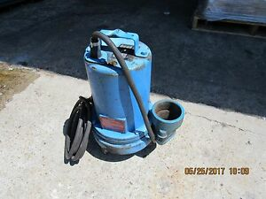 Barnes Submersible Pump 104903 3se744l 3 Used