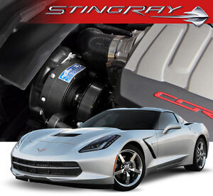 Vette C7 Stingray 14 17 Procharger I 1 Programmable Supercharger Stage Ii System