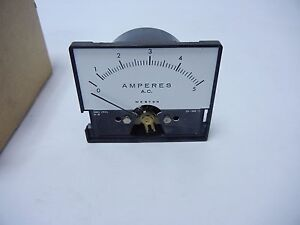Weston Ac Current 5 Amp Meter For Electronics Instrument Multimeter Power