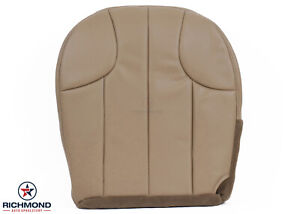 2001 Jeep Grand Cherokee Laredo driver Side Bottom Leather Seat Cover Tan