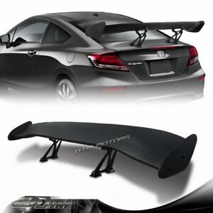 57 Type 2 Primer Black Abs Adjustable Trunk Gt Style Spoiler Wing Universal