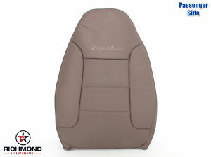 1995 Ford Bronco Eddie Bauer Passenger Side Lean Back Leather Seat Cover Tan
