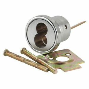 Schlage 20 079 626 Lfic Cylinder Rim Housing Without Core Satin Chrome 6 Pins
