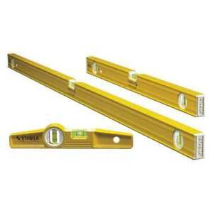 Tropedo Level Set aluminum 3 Pcs Stabila 29824