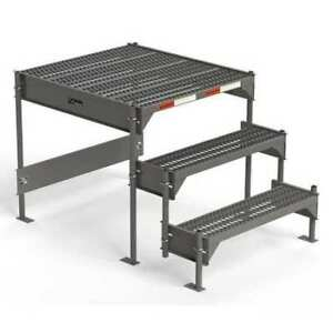 Custom Work Platform Steel 24 To 27 In H Ega Cw1 27 3 3