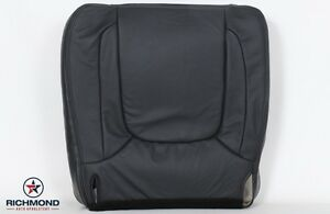 2004 2005 Dodge Ram 1500 Power Wagon driver Side Bottom Leather Seat Cover Gray