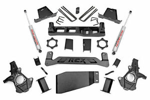 2007 2013 Chevrolet Gmc 1500 4wd 7 5 Rough Country Suspension Lift Kit 264 20