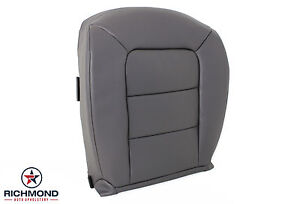 2001 Ford Explorer Sport Trac Driver Bottom Replacement Leather Seat Cover Gray