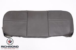 2008 2010 Ford F250 F350 F450 Xl bottom Bench Seat Replacement Vinyl Cover Gray