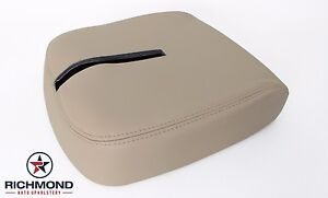 2007 2008 2009 2010 Chevy Tahoe center Console Storage Compartment Lid Cover Tan