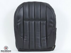 2000 Jeep Grand Cherokee Limited Driver Side Bottom Leather Seat Cover Dk Gray