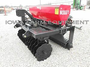 Overseeder Inner Seeder Drill No min Till Drill Planter 4 Kasco Vari Slice