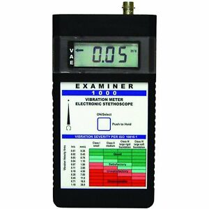 Monarch 6400 011 Examiner 1000 System Vibration Meter Without Ontime Software