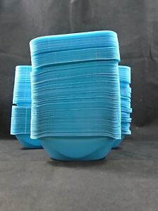 New Vwr Blue Polystyrene 20ml Disposable Antistatic Weigh Boats lot Of 350