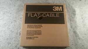 89 Roll 3m Flat Ribbon Cable Wire 3365 10 Sf New Apliance Wiring c13b1