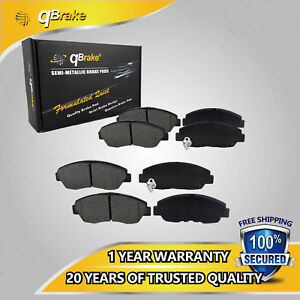 Up Premium Front And Rear Brake Pad Set For Lincoln Town Car