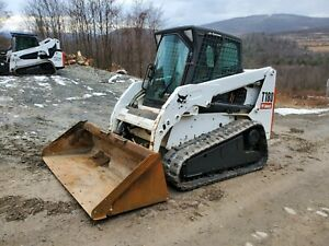 2007 Bobcat 435g Excavator Enclosed Cab Hydraulic Thumb Low Hours Ready 2 Work