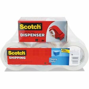 Scotch 3850 Heavy duty Packaging Tape 1 88 X 54 6yds C W