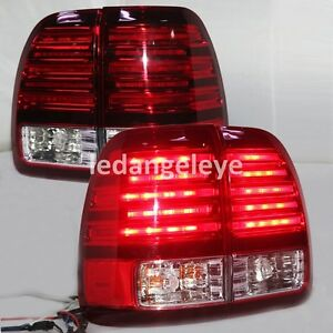 Led Rear Lamps For Lexus Lx470 Led Tail Lights 1998 To 2002 Year Red White Lf