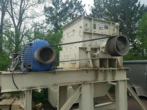 Jeffrey 45 Ab Wood Hog Hammer Mill Crusher Pulverizer Swinging Hammer Grinder