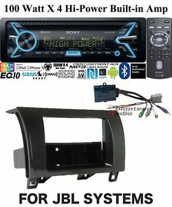Sony Car Stereo Radio Bluetooth Cd Player With Dash Install Kit Songpal 100w X 4