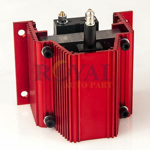 Pce382 1007 High Output E Core Ignition Coil Output 12v Msd 60k Coil Red