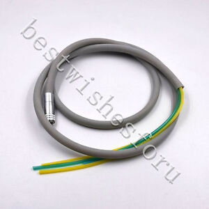 1x Silicone 4 hole Dental Hose Tubes For Air Turbine Motor handpiece Connection