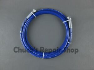 Airless Spray Hose Assembly 3300psi 1 4 X 12ft Whip
