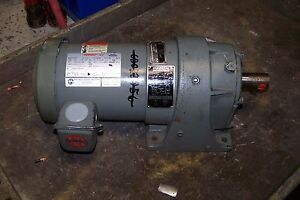 Us Motor 2 Hp Syncrogear Gear Reducer 208 230 460 Vac 6 03 1 Ratio 1725 Rpm 3
