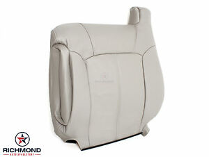 2000 2002 Chevy Tahoe Suburban Lt Driver Side Lean Back Leather Seat Cover Tan