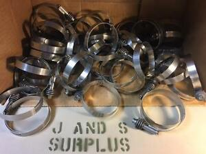 50 Ea Ideal Breeze Stainless Constant Torque Hose Clamp 3 1 4 Size 44 Worm Gear