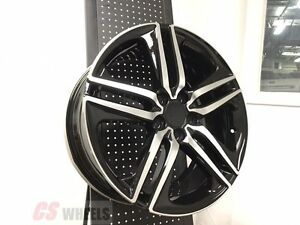 20 Hfp Style 2016 Accord Sport Fits Honda Civic Si New Black Alloy Wheels