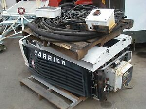 Used Diesel Carrier Transicold Genesis Refrigeration Unit